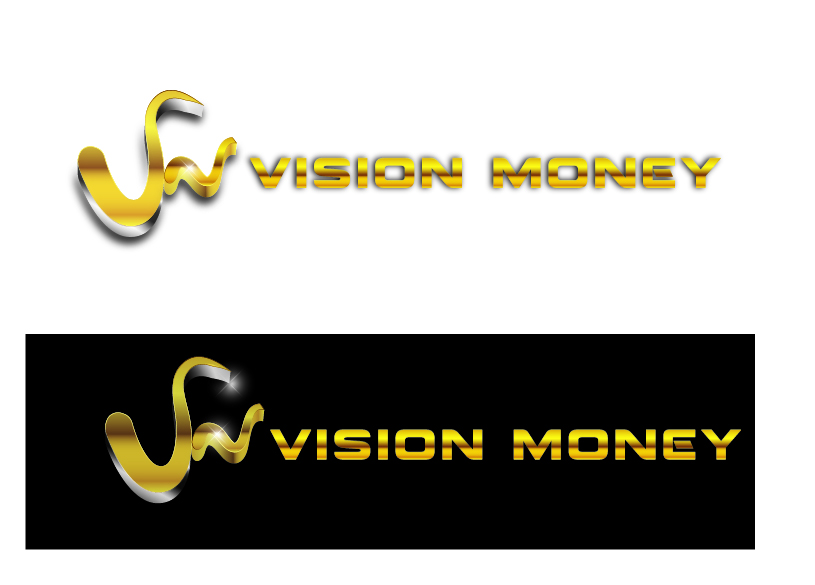 Logo Design by VENTSISLAV KOVACHEV - Entry No. 94 in the Logo Design Contest Captivating Logo Design for VISION MONEY.