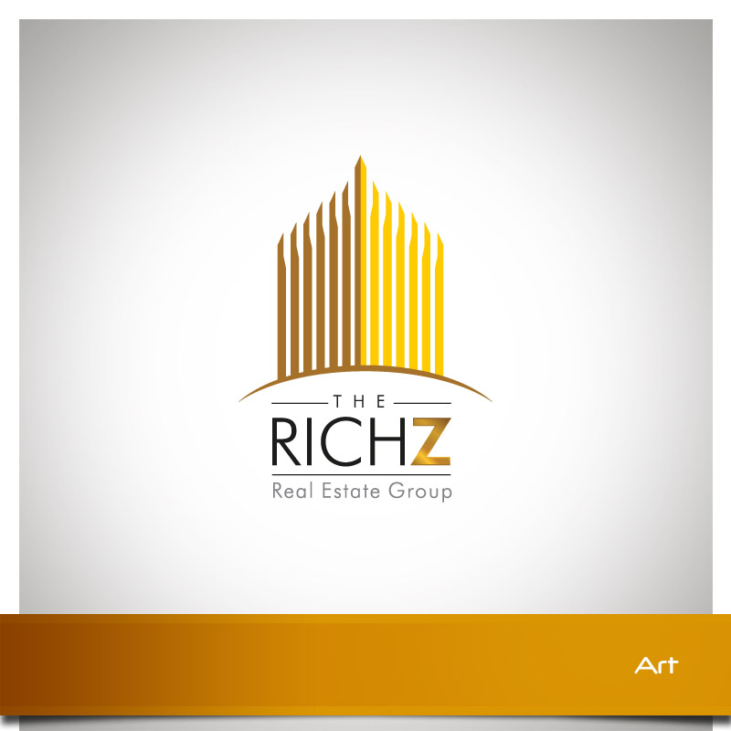 Logo Design by Puspita Wahyuni - Entry No. 264 in the Logo Design Contest The Rich Z. Real Estate Group Logo Design.