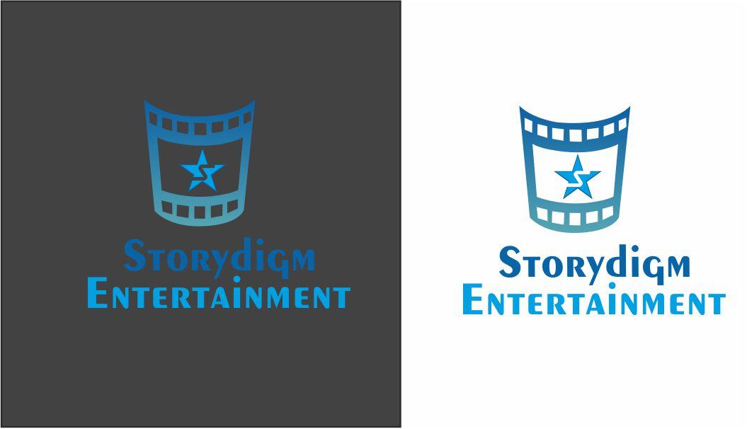 Logo Design by Vallabh Vinerkar - Entry No. 57 in the Logo Design Contest Inspiring Logo Design for Storydigm Entertainment.