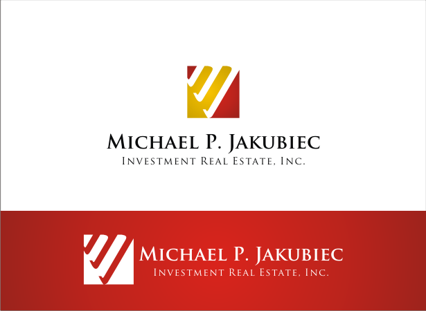 Logo Design by Armada Jamaluddin - Entry No. 49 in the Logo Design Contest New Logo Design for Michael P. Jakubiec Investment Real Estate, Inc..