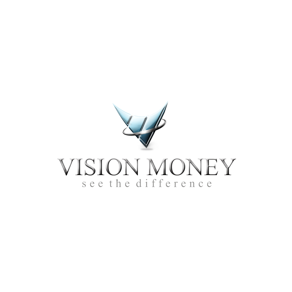 Logo Design by Dek Lestari - Entry No. 106 in the Logo Design Contest Captivating Logo Design for VISION MONEY.