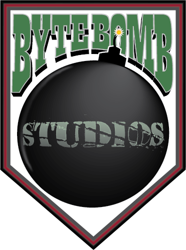Logo Design by Chris Cowan - Entry No. 24 in the Logo Design Contest Captivating Logo Design for ByteBomb Studios.