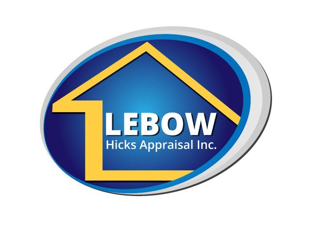 Logo Design by ronik.web - Entry No. 1 in the Logo Design Contest Fun Logo Design for Lebow, Hicks Appraisal Inc..