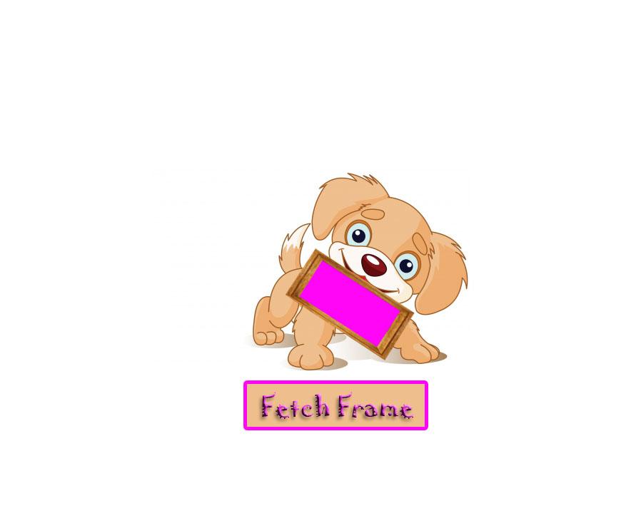 Logo Design by Laila Tariq - Entry No. 62 in the Logo Design Contest New Logo Design for FetchFrame.