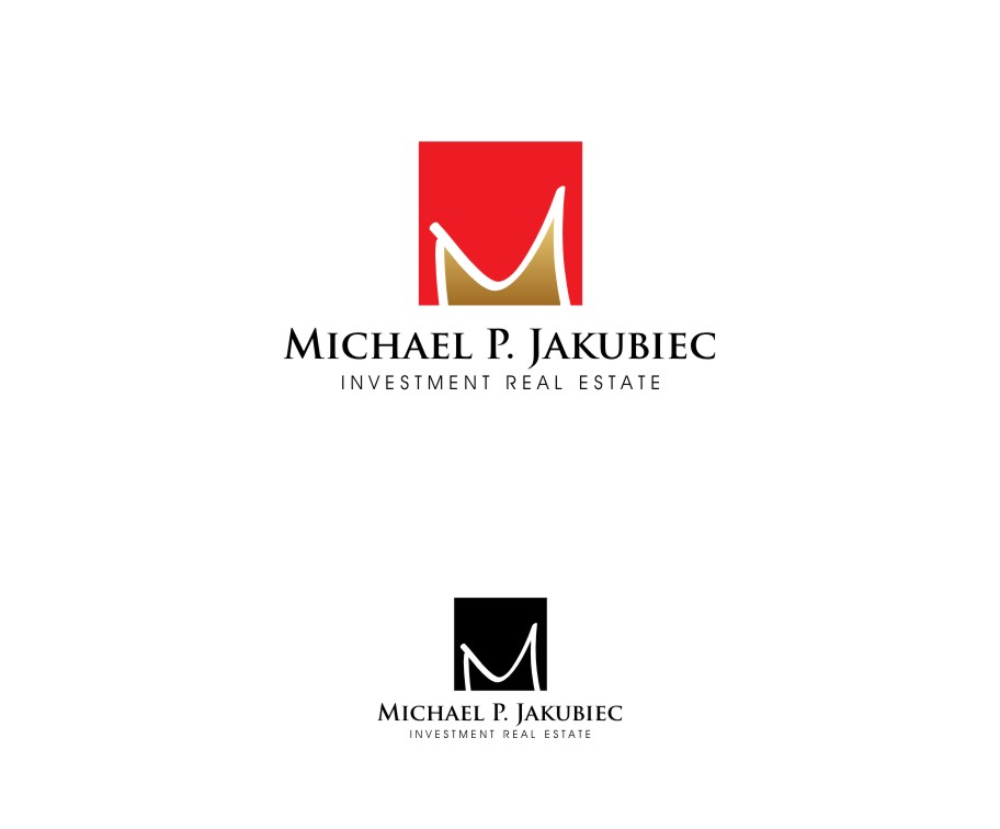 Logo Design by untung - Entry No. 54 in the Logo Design Contest New Logo Design for Michael P. Jakubiec Investment Real Estate, Inc..