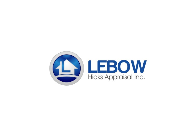 Logo Design by untung - Entry No. 2 in the Logo Design Contest Fun Logo Design for Lebow, Hicks Appraisal Inc..