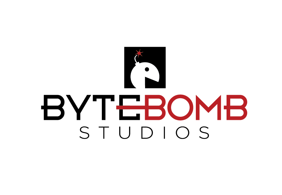 Logo Design by Christina Evans - Entry No. 25 in the Logo Design Contest Captivating Logo Design for ByteBomb Studios.