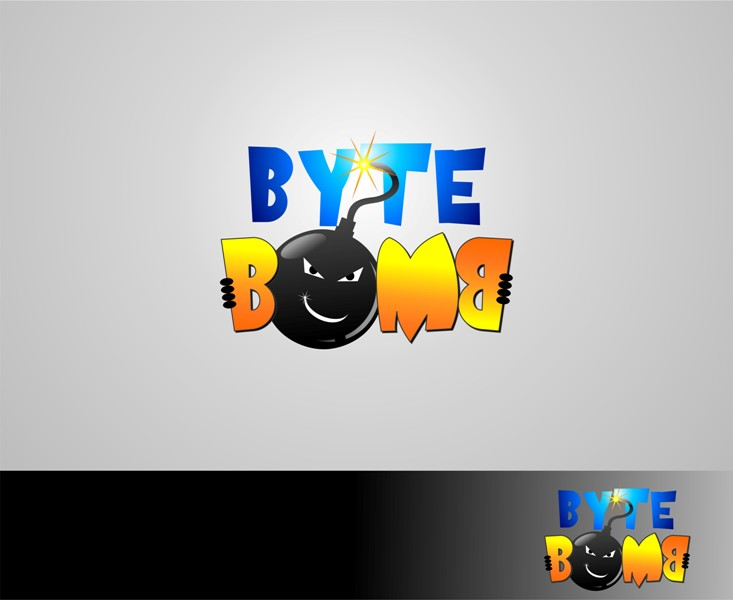 Logo Design by Mhon_Rose - Entry No. 26 in the Logo Design Contest Captivating Logo Design for ByteBomb Studios.