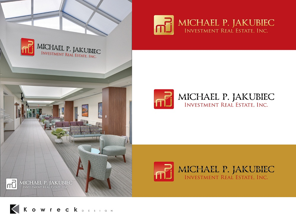 Logo Design by kowreck - Entry No. 57 in the Logo Design Contest New Logo Design for Michael P. Jakubiec Investment Real Estate, Inc..