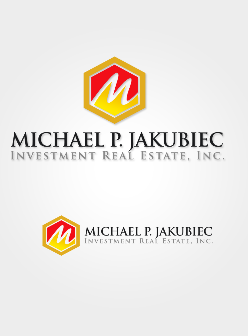 Logo Design by Robert Turla - Entry No. 59 in the Logo Design Contest New Logo Design for Michael P. Jakubiec Investment Real Estate, Inc..