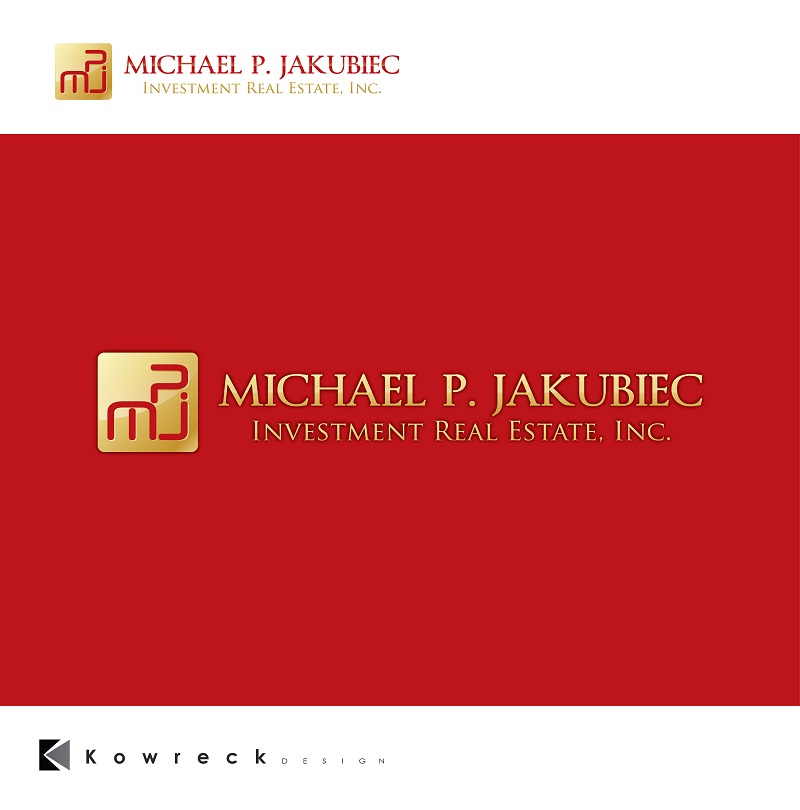 Logo Design by kowreck - Entry No. 60 in the Logo Design Contest New Logo Design for Michael P. Jakubiec Investment Real Estate, Inc..