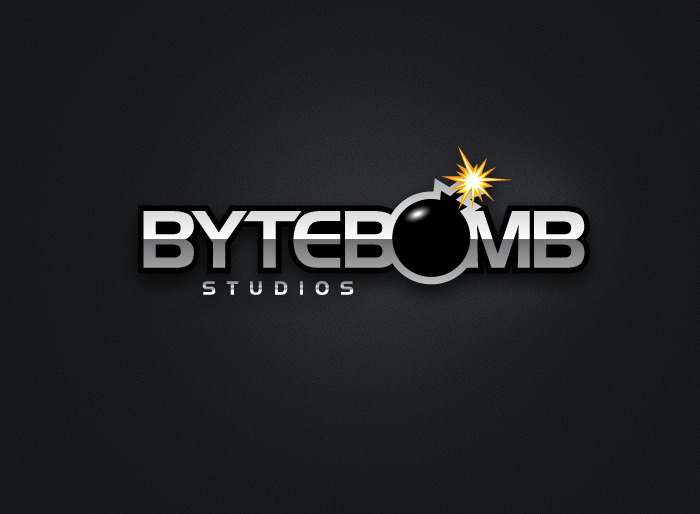 Logo Design by Jan Chua - Entry No. 29 in the Logo Design Contest Captivating Logo Design for ByteBomb Studios.