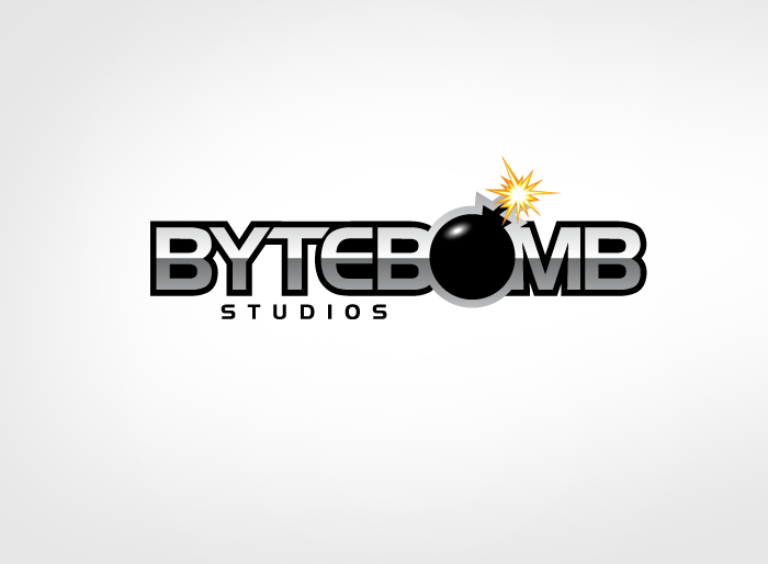 Logo Design by Jan Chua - Entry No. 30 in the Logo Design Contest Captivating Logo Design for ByteBomb Studios.
