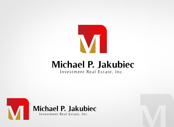 Logo Design by Jan Chua - Entry No. 63 in the Logo Design Contest New Logo Design for Michael P. Jakubiec Investment Real Estate, Inc..
