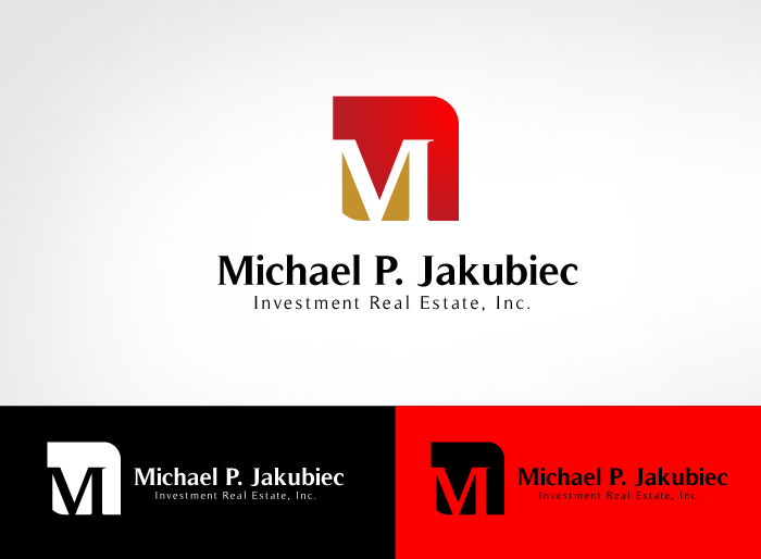 Logo Design by Jan Chua - Entry No. 64 in the Logo Design Contest New Logo Design for Michael P. Jakubiec Investment Real Estate, Inc..