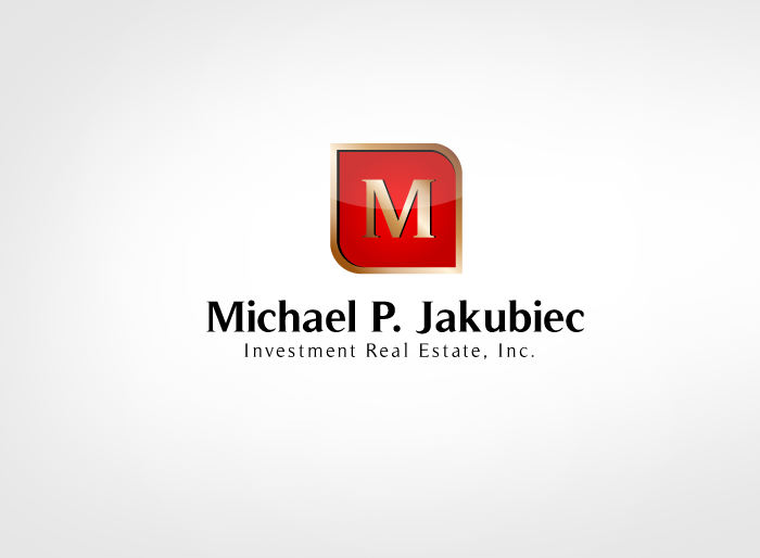 Logo Design by Jan Chua - Entry No. 65 in the Logo Design Contest New Logo Design for Michael P. Jakubiec Investment Real Estate, Inc..