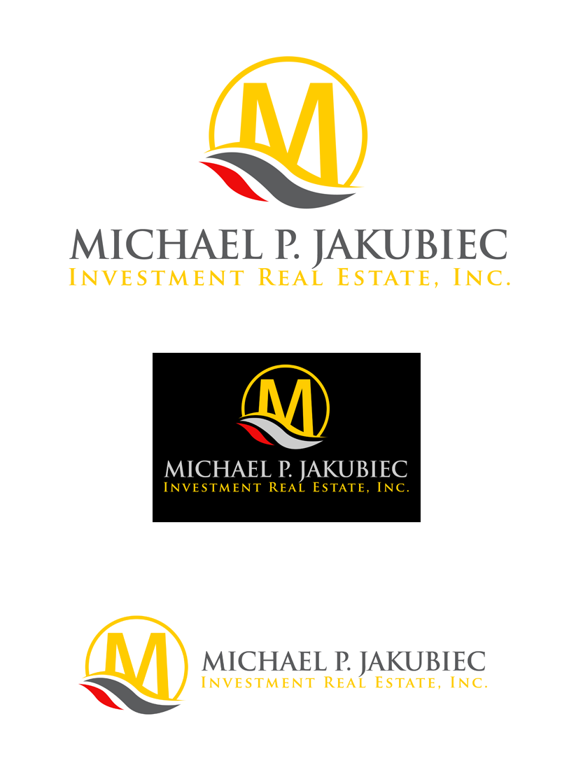 Logo Design by Private User - Entry No. 67 in the Logo Design Contest New Logo Design for Michael P. Jakubiec Investment Real Estate, Inc..