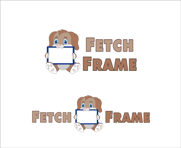 Logo Design by Mhon_Rose - Entry No. 70 in the Logo Design Contest New Logo Design for FetchFrame.