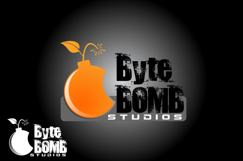 Logo Design by Crispin Jr Vasquez - Entry No. 31 in the Logo Design Contest Captivating Logo Design for ByteBomb Studios.