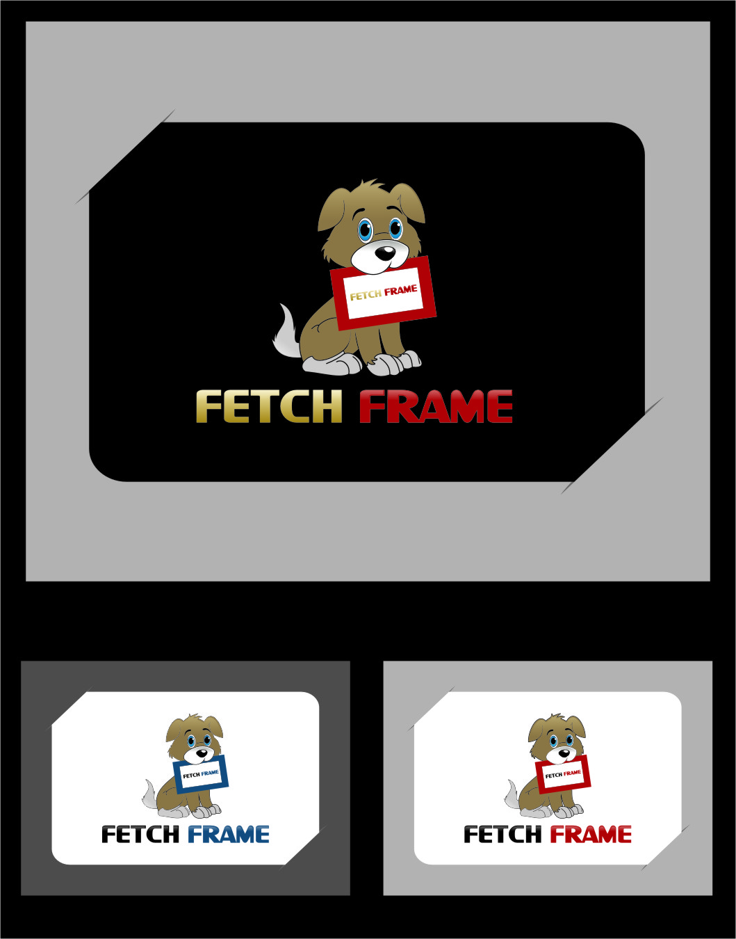 Logo Design by Ngepet_art - Entry No. 74 in the Logo Design Contest New Logo Design for FetchFrame.