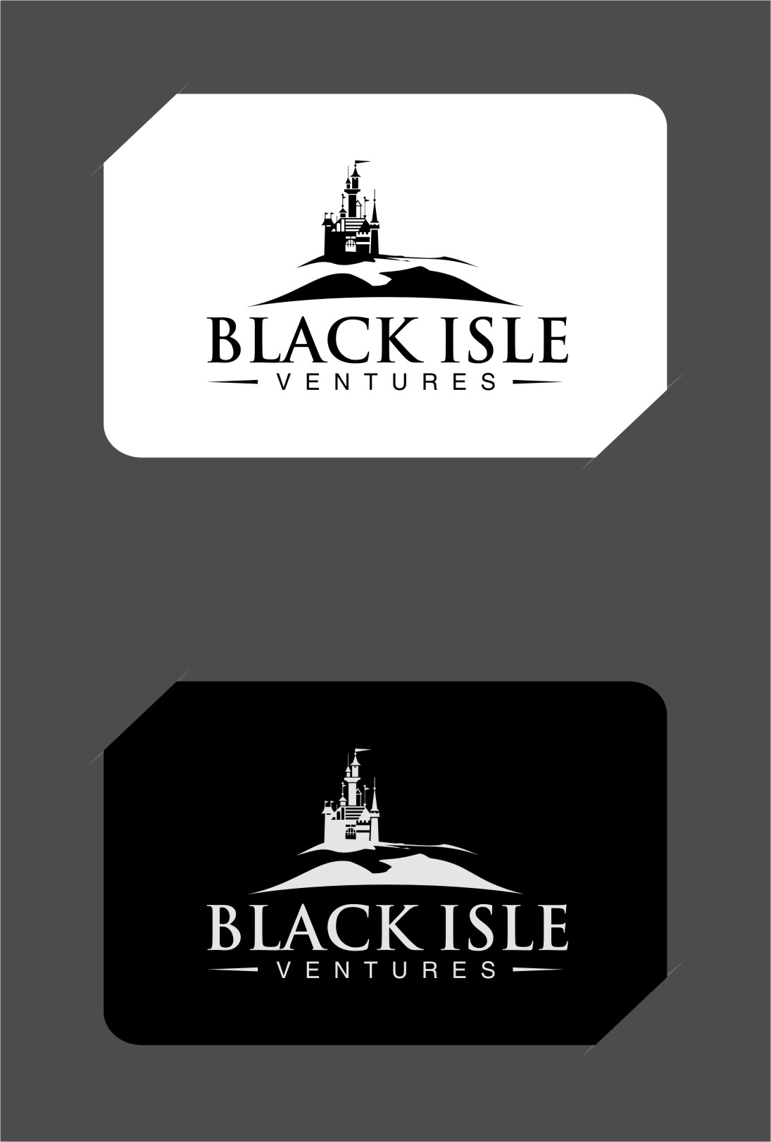 Logo Design by Ngepet_art - Entry No. 48 in the Logo Design Contest Creative Logo Design for Black Isle Ventures.