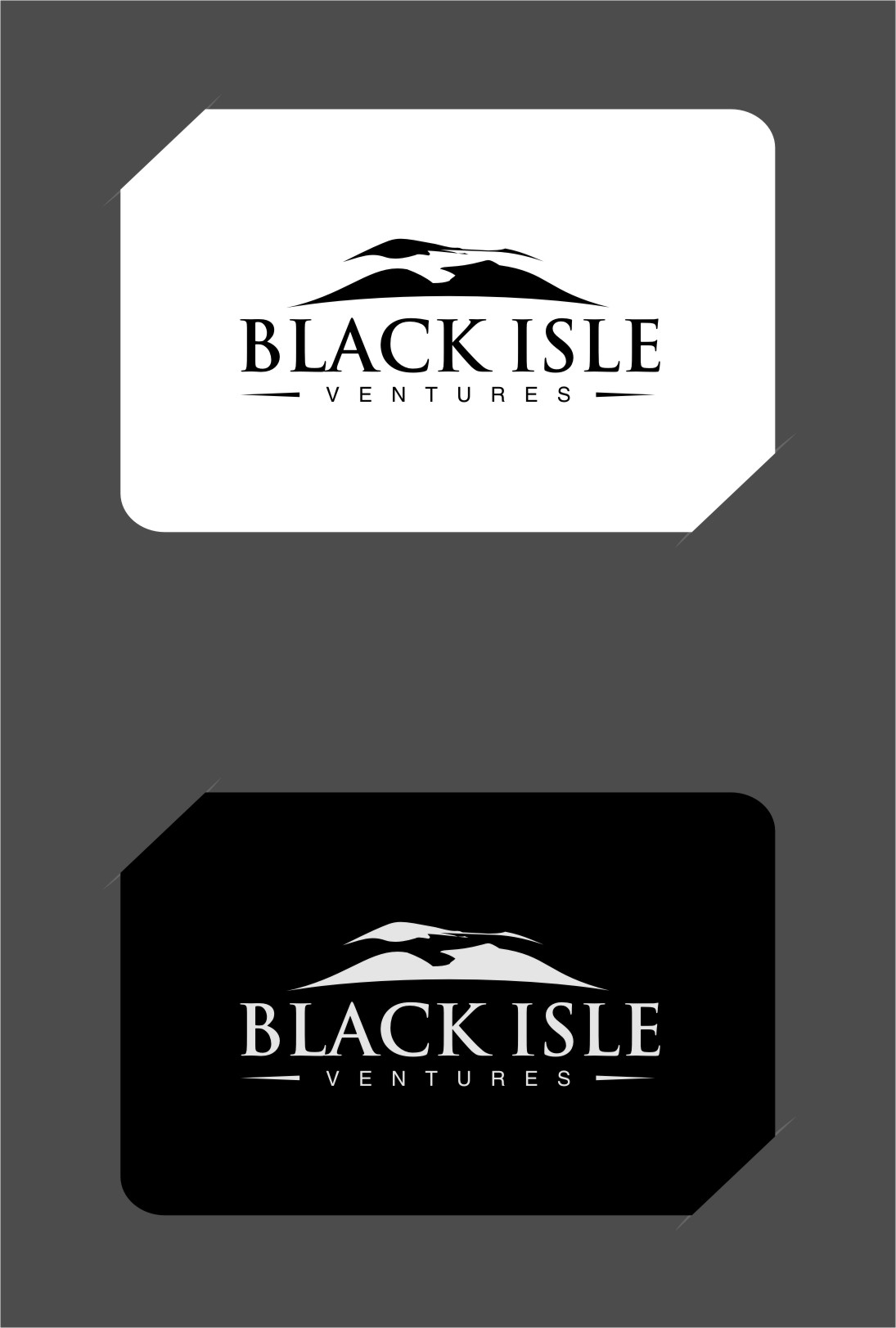 Logo Design by RasYa Muhammad Athaya - Entry No. 49 in the Logo Design Contest Creative Logo Design for Black Isle Ventures.