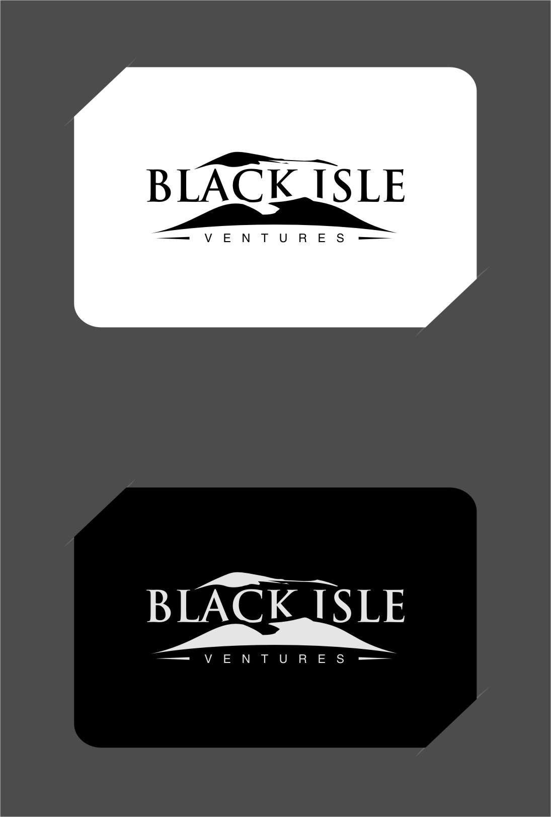 Logo Design by RoSyid Rono-Rene On Java - Entry No. 50 in the Logo Design Contest Creative Logo Design for Black Isle Ventures.
