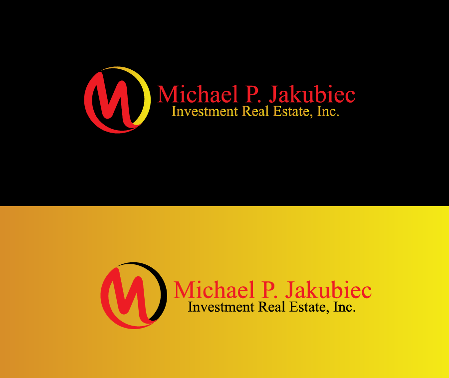 Logo Design by Private User - Entry No. 72 in the Logo Design Contest New Logo Design for Michael P. Jakubiec Investment Real Estate, Inc..