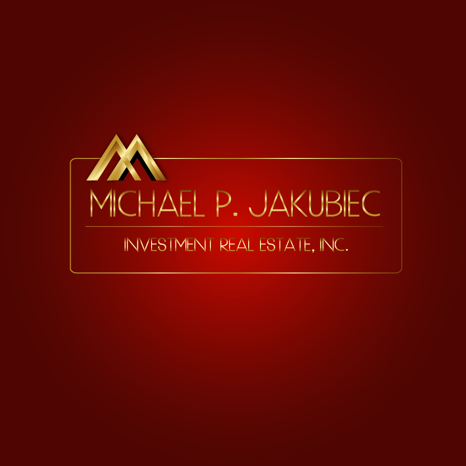 Logo Design by moonflower - Entry No. 76 in the Logo Design Contest New Logo Design for Michael P. Jakubiec Investment Real Estate, Inc..