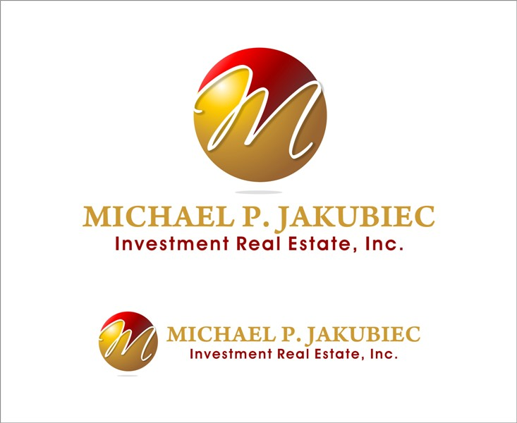 Logo Design by Mhon_Rose - Entry No. 80 in the Logo Design Contest New Logo Design for Michael P. Jakubiec Investment Real Estate, Inc..