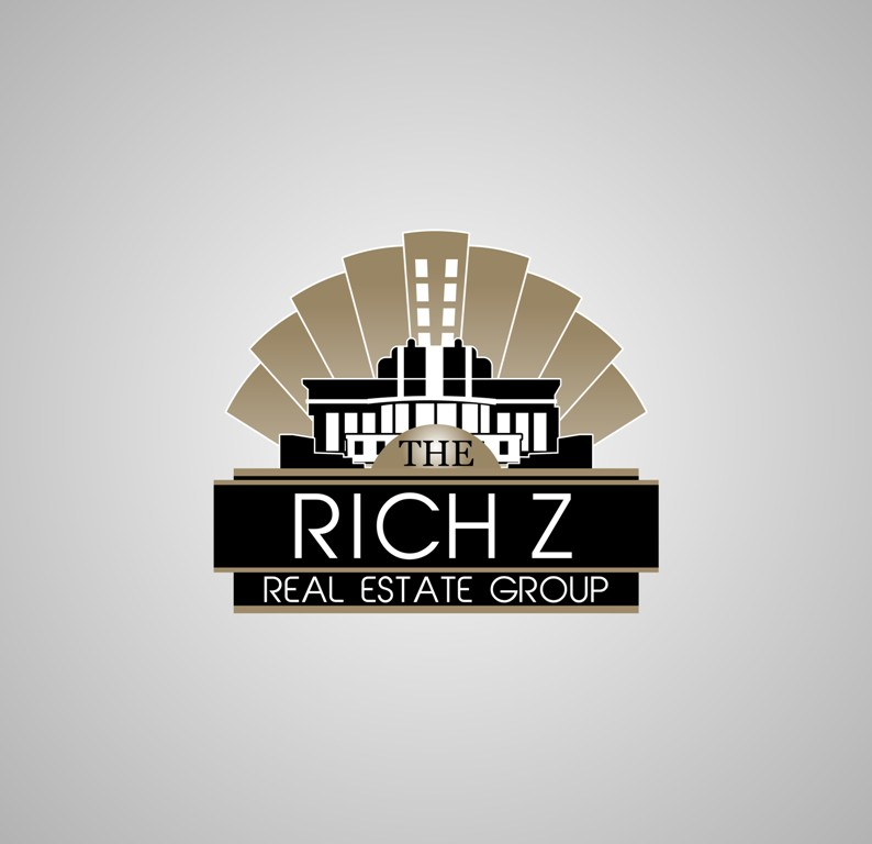 Logo Design by Crispin Jr Vasquez - Entry No. 272 in the Logo Design Contest The Rich Z. Real Estate Group Logo Design.