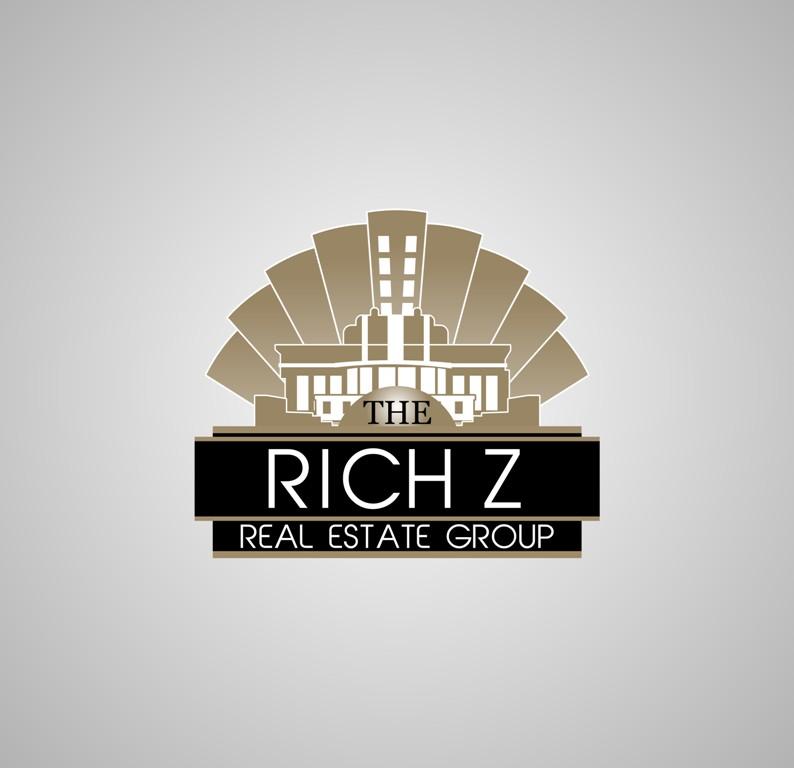 Logo Design by Crispin Jr Vasquez - Entry No. 273 in the Logo Design Contest The Rich Z. Real Estate Group Logo Design.