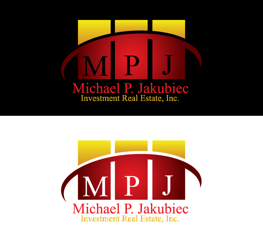 Logo Design by Private User - Entry No. 82 in the Logo Design Contest New Logo Design for Michael P. Jakubiec Investment Real Estate, Inc..
