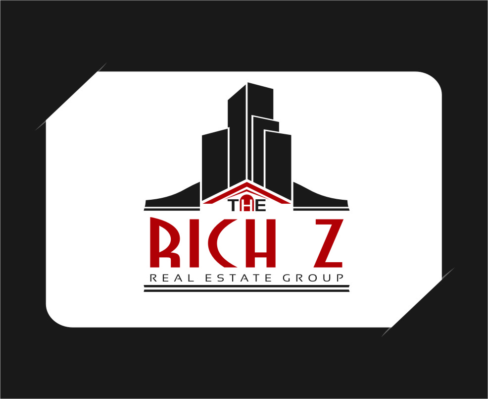 Logo Design by Ngepet_art - Entry No. 275 in the Logo Design Contest The Rich Z. Real Estate Group Logo Design.