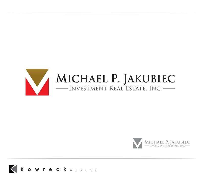 Logo Design by kowreck - Entry No. 84 in the Logo Design Contest New Logo Design for Michael P. Jakubiec Investment Real Estate, Inc..