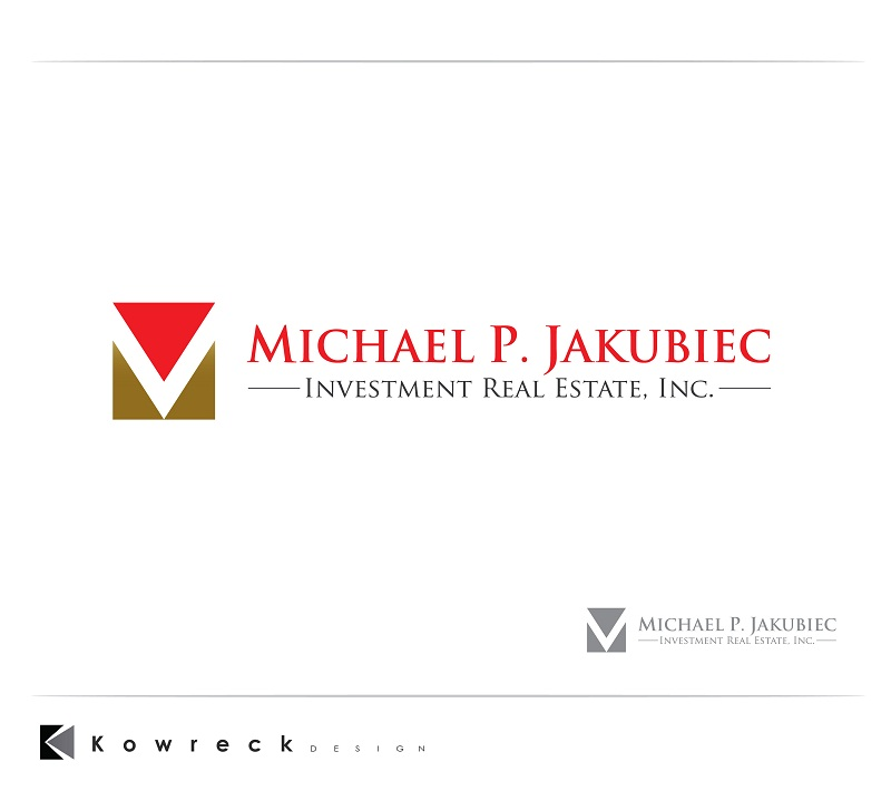 Logo Design by kowreck - Entry No. 86 in the Logo Design Contest New Logo Design for Michael P. Jakubiec Investment Real Estate, Inc..