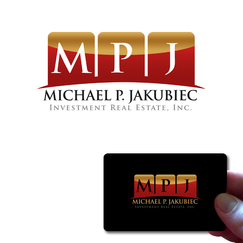 Logo Design by Robert Turla - Entry No. 88 in the Logo Design Contest New Logo Design for Michael P. Jakubiec Investment Real Estate, Inc..