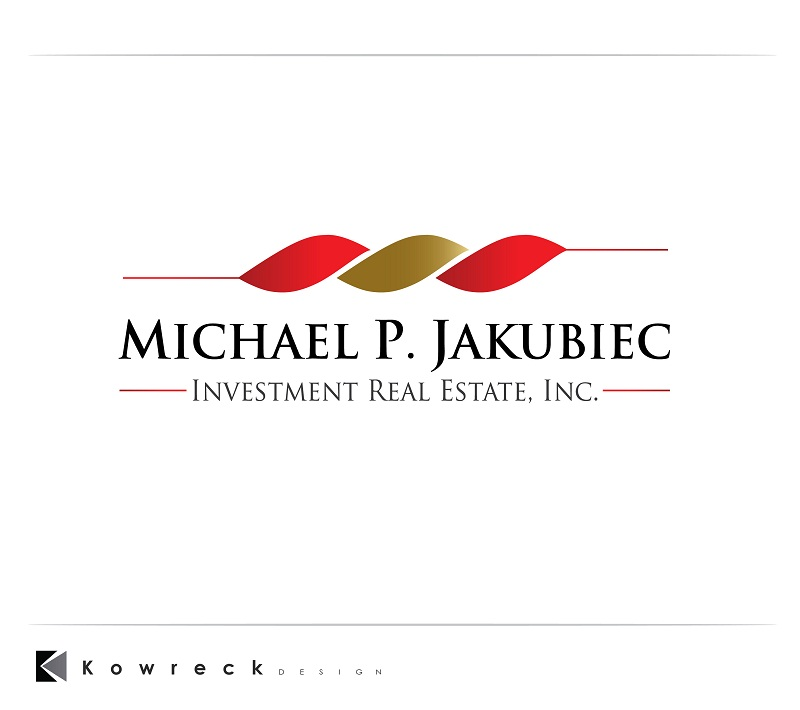 Logo Design by kowreck - Entry No. 90 in the Logo Design Contest New Logo Design for Michael P. Jakubiec Investment Real Estate, Inc..