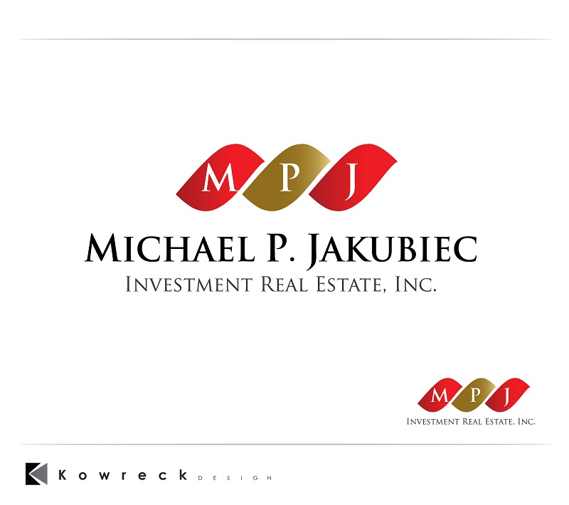 Logo Design by kowreck - Entry No. 91 in the Logo Design Contest New Logo Design for Michael P. Jakubiec Investment Real Estate, Inc..