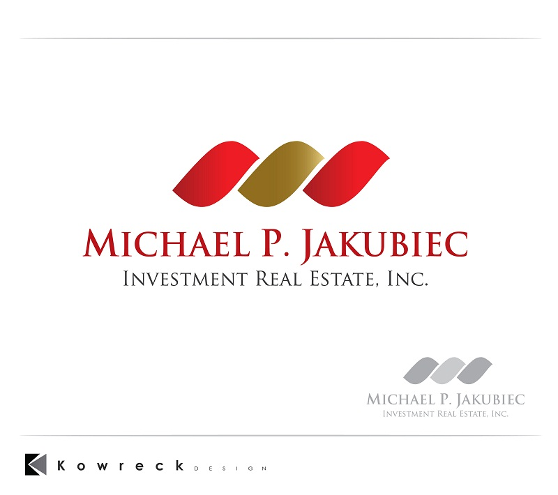 Logo Design by kowreck - Entry No. 92 in the Logo Design Contest New Logo Design for Michael P. Jakubiec Investment Real Estate, Inc..