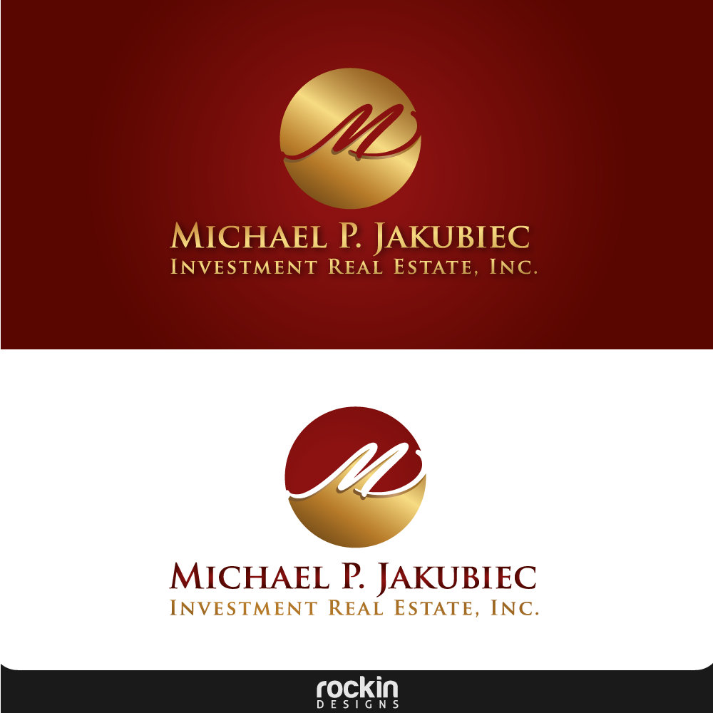 Logo Design by rockin - Entry No. 95 in the Logo Design Contest New Logo Design for Michael P. Jakubiec Investment Real Estate, Inc..