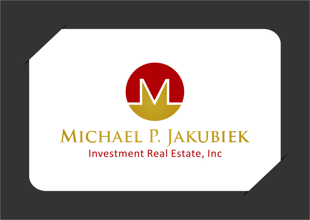 Logo Design by RasYa Muhammad Athaya - Entry No. 100 in the Logo Design Contest New Logo Design for Michael P. Jakubiec Investment Real Estate, Inc..