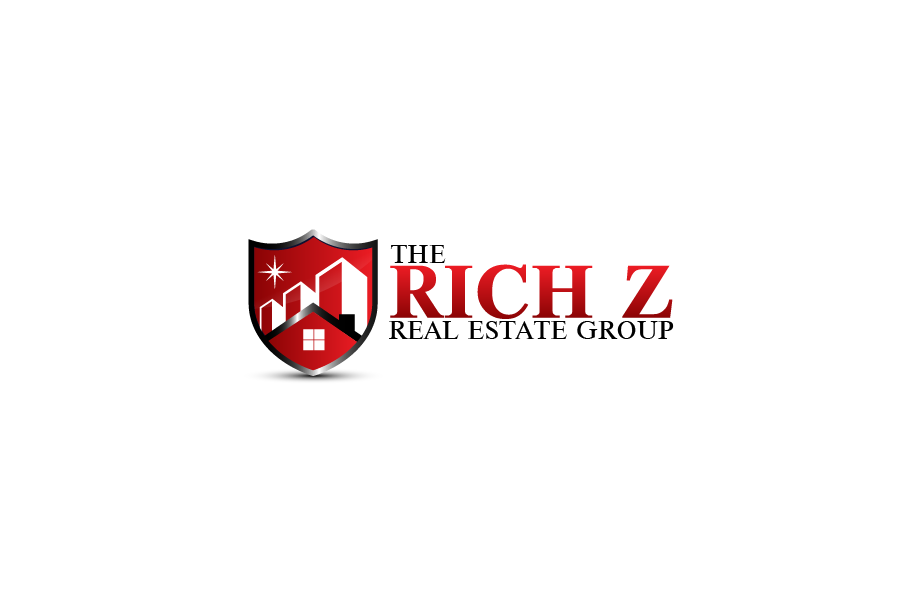 Logo Design by Private User - Entry No. 278 in the Logo Design Contest The Rich Z. Real Estate Group Logo Design.