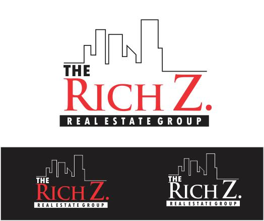 Logo Design by ronny - Entry No. 282 in the Logo Design Contest The Rich Z. Real Estate Group Logo Design.