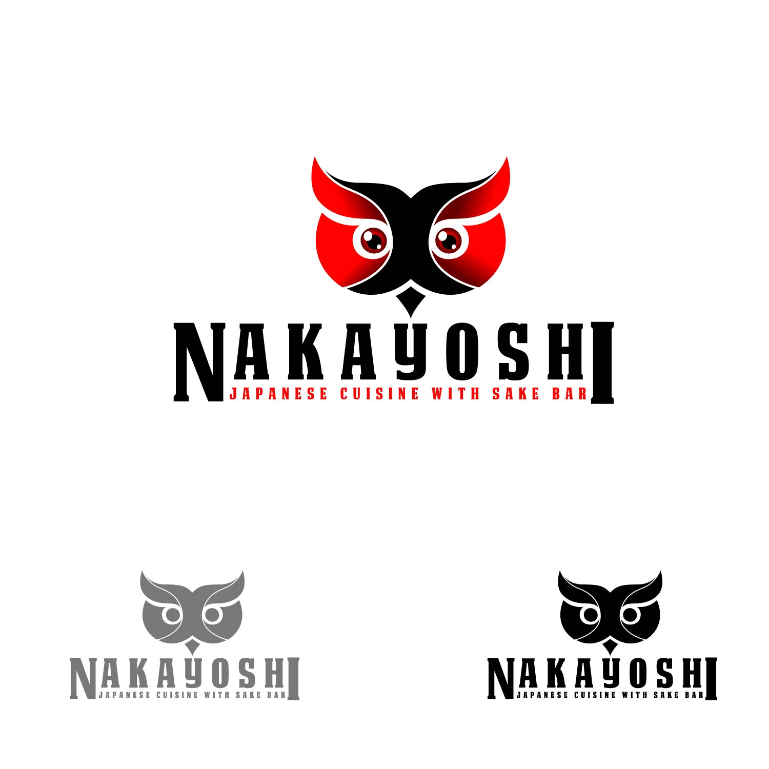 Logo Design by lagalag - Entry No. 43 in the Logo Design Contest Imaginative Logo Design for NAKAYOSHI.
