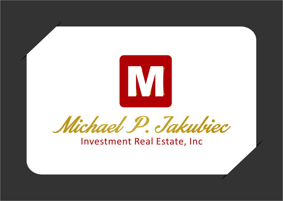 Logo Design by RoSyid Rono-Rene On Java - Entry No. 101 in the Logo Design Contest New Logo Design for Michael P. Jakubiec Investment Real Estate, Inc..