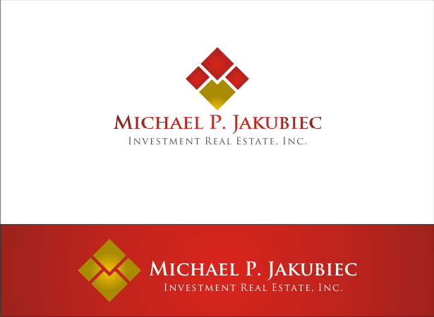 Logo Design by Armada Jamaluddin - Entry No. 102 in the Logo Design Contest New Logo Design for Michael P. Jakubiec Investment Real Estate, Inc..