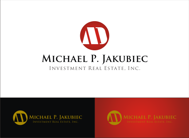 Logo Design by Armada Jamaluddin - Entry No. 103 in the Logo Design Contest New Logo Design for Michael P. Jakubiec Investment Real Estate, Inc..