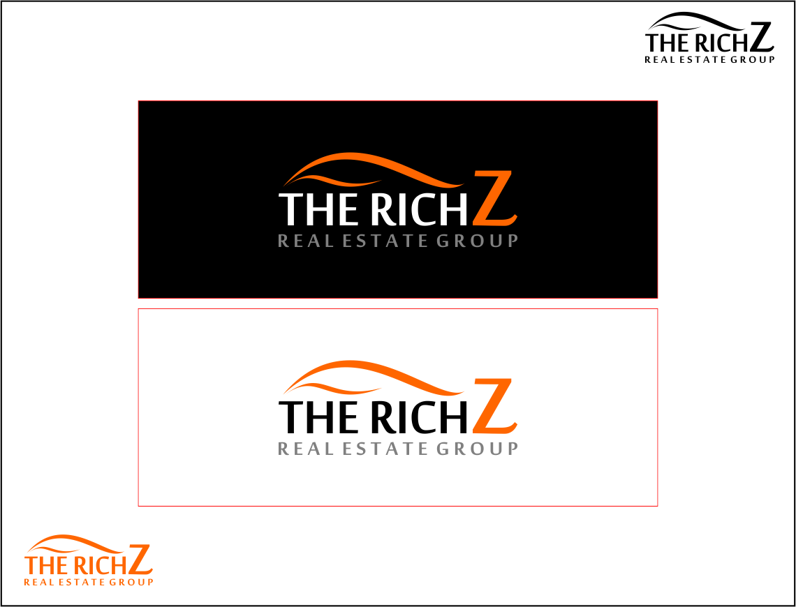 Logo Design by Agus Martoyo - Entry No. 287 in the Logo Design Contest The Rich Z. Real Estate Group Logo Design.