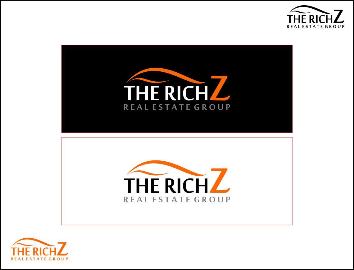 Logo Design by Agus Martoyo - Entry No. 287 in the Logo Design Contest The Rich Z. Real Estate Group Logo Design.